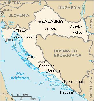 Mappa-Croazia